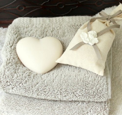 Bulk Heart Shaped French Soaps
