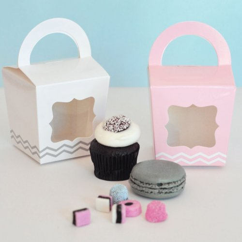 Treat Totes with Personalized Baby Shower Tags