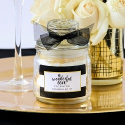 Personalized Mini Wedding Themed Cookie Jars