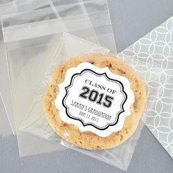 Personalized Clear Graduation Candy Bags