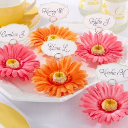 Gerbera Daisy Place Card/Photo Holder