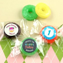 Personalized Birthday Life Saver Candies