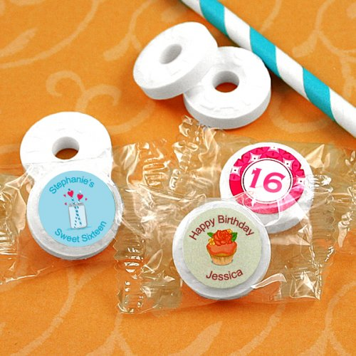 Personalized Sweet 16 Life Savers