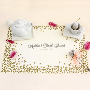 Personalized Bridal Placemats