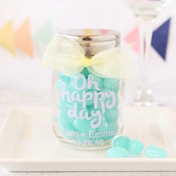 Printed Mini Mason Jars