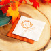 Personalized Fall Harvest Exclusive Wedding Napkins