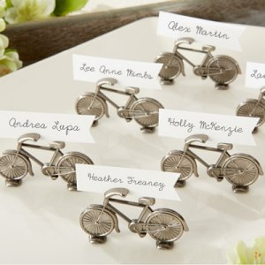 """Le Tour"" Bicycle Place Card/Photo Holder"