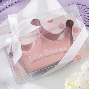 """Little Princess"" Stainless-Steel Crown Cookie Cutter"