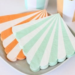 Toot Sweet Scalloped Stripe 6