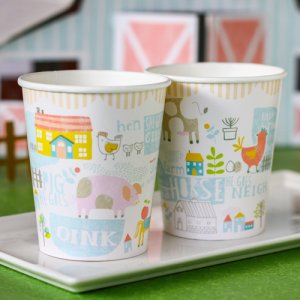 Happy Little Farm Party Cups