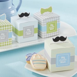 """My Little Man"" Favor Boxes"