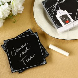 Chalkboard Coasters