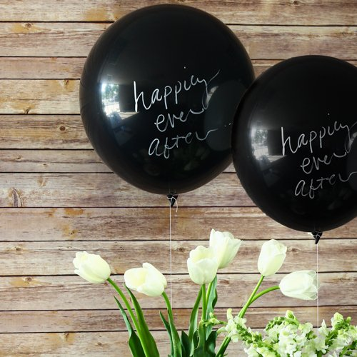 Chalk Board Balloon Kit Chalkboard Balloons Chalk Balloon Kit Write On Balloon Kit