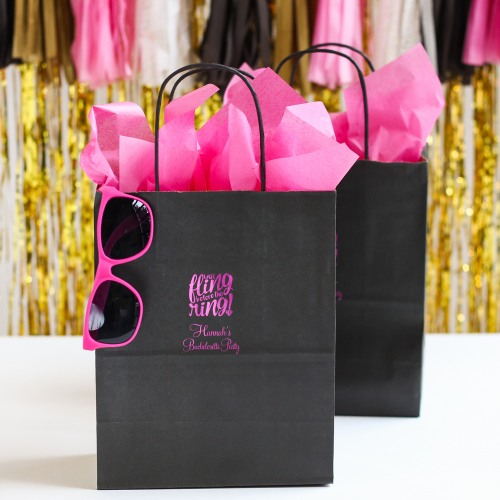 Personalized Bachelorette Gift Bags