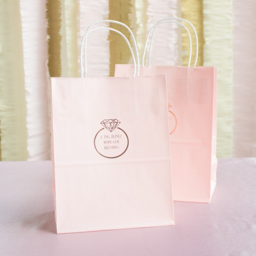 Personalized Ring Gift Bags