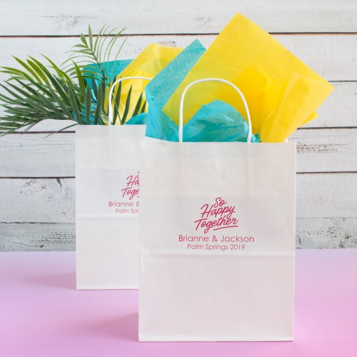 Personalized Happy Together Gift Bags