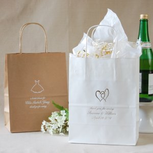 Personalized Wedding Gift Bags