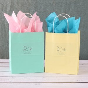Personalized Baby Shower Gift Bags