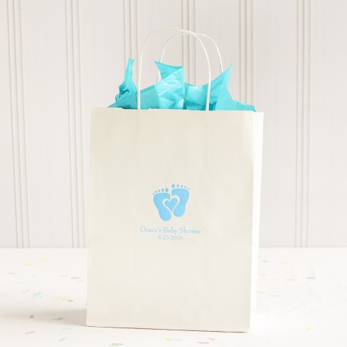 Personalized Baby Feet Gift Bags
