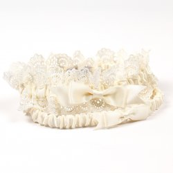 Eleanor Lace Wedding Garter Set
