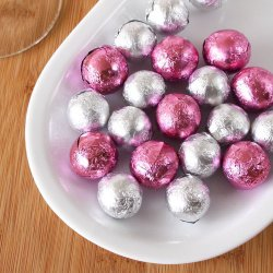 Foil Wrapped Chocolate Balls