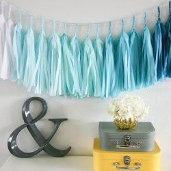 Paper Tassel Garland