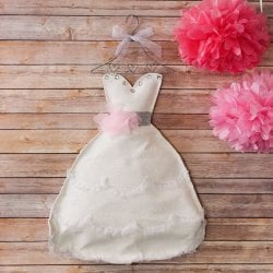 Bridal Shower Dress Door Hanger