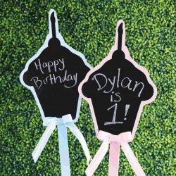 Cupcake Chalkboard Sign