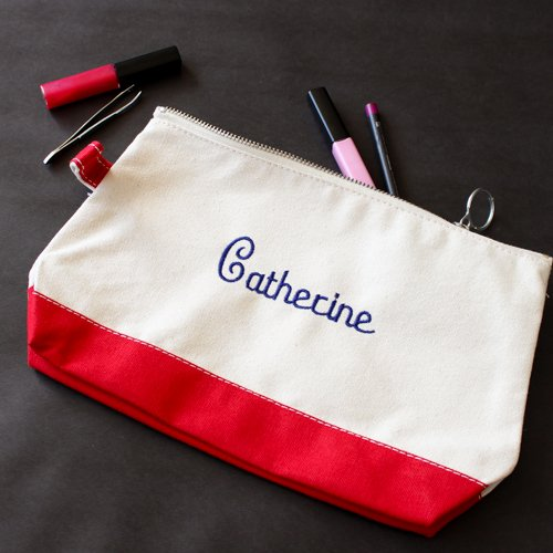 f1f675d99d8b Personalized Canvas Makeup Bag