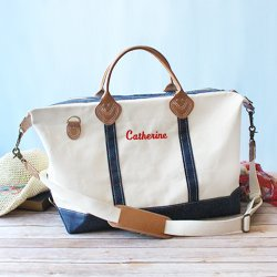 Personalized Canvas Weekender