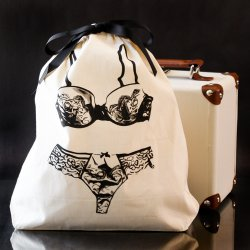 Travel Lingerie Bag