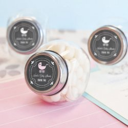 Personalized Chalkboard Candy Jars