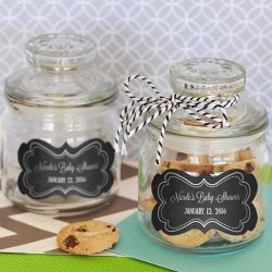 Personalized Chalkboard Mini Cookie Jars