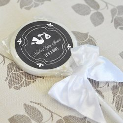 Personalized Chalkboard Lollipop Favors