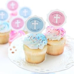 Personalized Religious Cupcake Picks