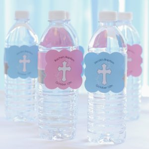Personalized Religious Water Bottle Labels