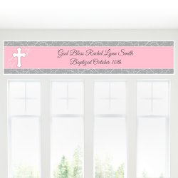 Personalized Religious Party Banner