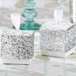 Glitter Favor Boxes