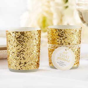 Glitter Tealight Holders