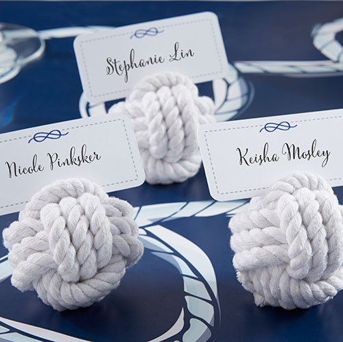Nautical Rope Place Card Holders