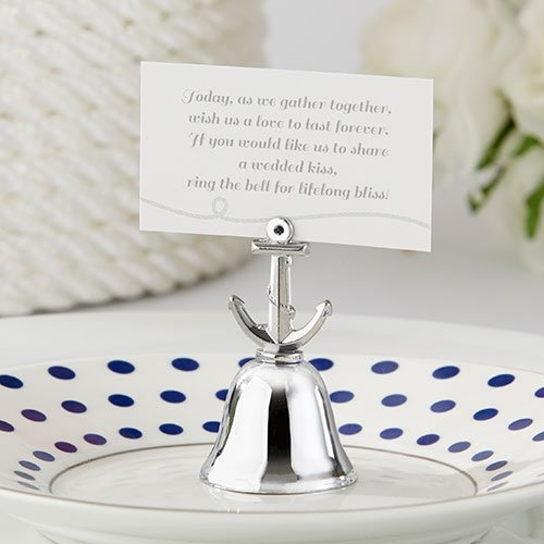 Anchor Kissing Bell Place Card Holders Anchor Bell Place