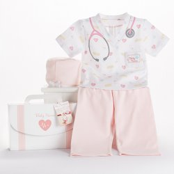 Baby Nurse 3-Piece Personalized Layette Set