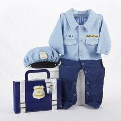Baby Officer Personalized Layette Set