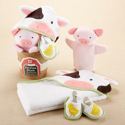 Farmhouse Friends Bathtime Bucket Set
