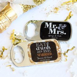 Personalized Themed Bottle Openers with Epoxy Dome