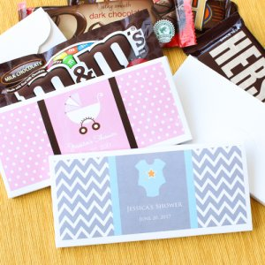 Personalized Baby Shower Candy Covers