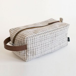 Travel Case with Zipper