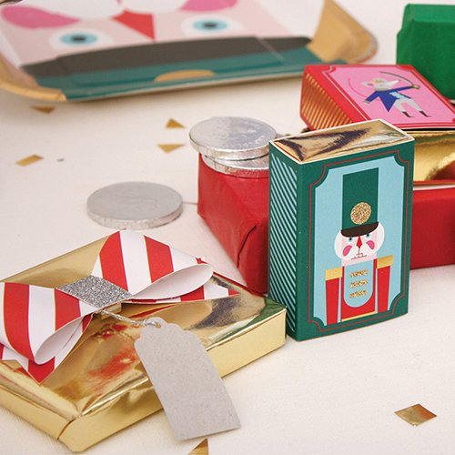 Nutcracker Mini Gift Boxes