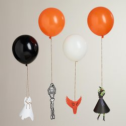 Halloween Balloon Holders Kit