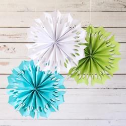 Paper Flower Pinwheels